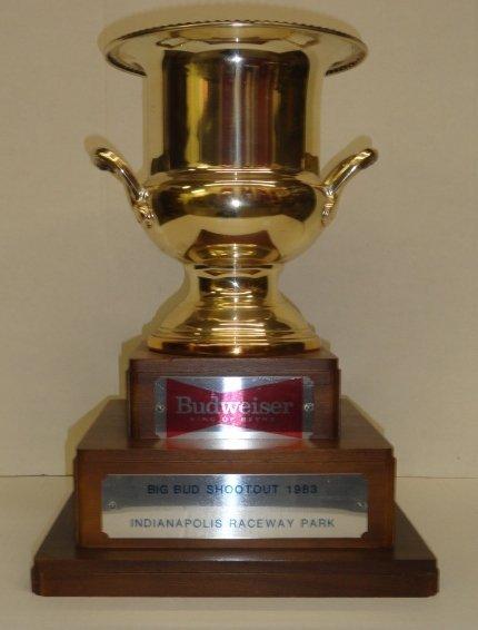 1983 Bud Shootout Winner Trophy