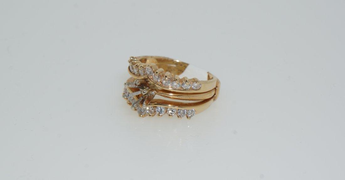 Ladies Round Cut Diamond Ring - 3