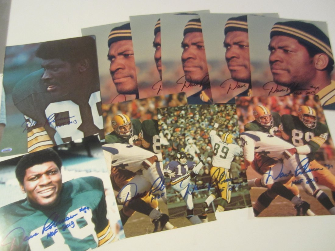 Dave Robinson Auto Photo Lot