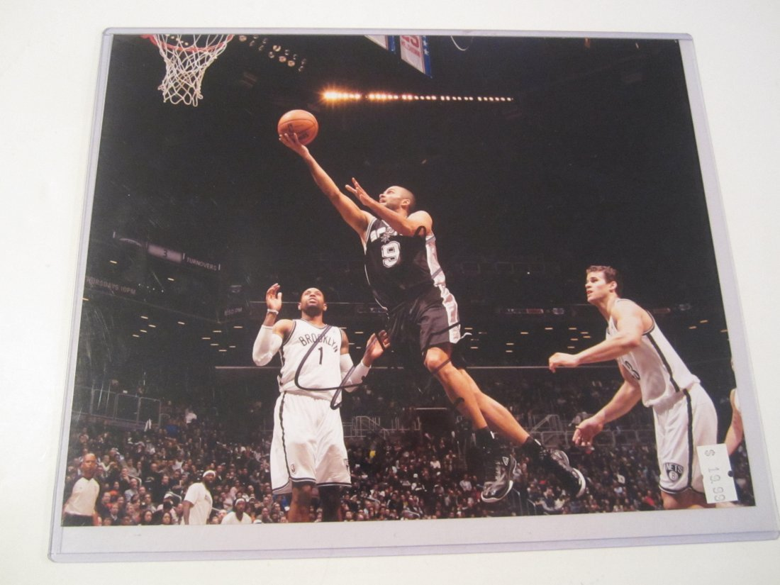 Tony Parker Signed Photo