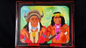 J.W. Gacy Painting