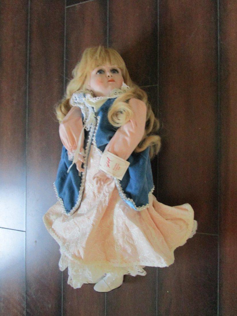 Large rare Porcelain Doll by Edna Hibel - value 200.00 - 2