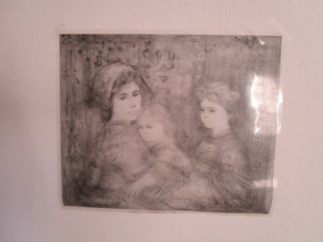 Rare  - photography plate for printing -Unique