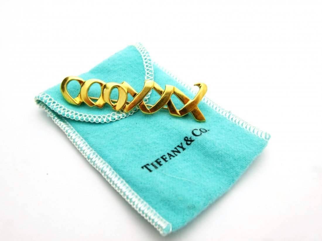 Tiffany & Co. 1983 Paloma Picasso 18K Yellow Gold
