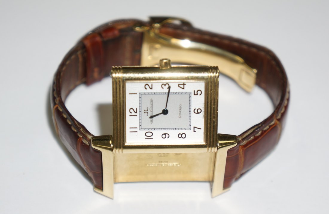 Jaeger Lecoultre Reverso, 18k Gold Watch
