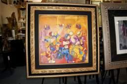Dorit Levi Oil On Canvas Original