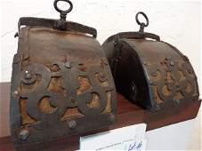 Spanish Colonial Stirrups Circa 17th Century