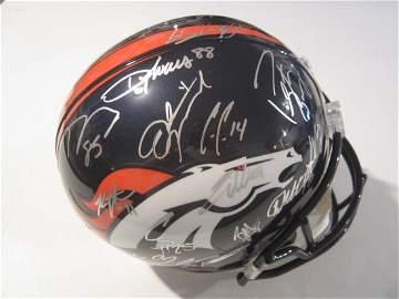 2015 Broncos auto fs helmet