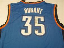 Kevin Durant signed jersey
