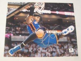 Carmelo Anthony Auto Photo
