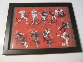 Cleveland Browns Signed Photo