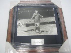 Babe Ruth Framed Photo