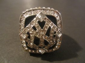 Derek Jeter Replica Ws Ring
