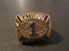 Joe Paterno Replica Champ Ring