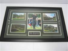 Phil Mickelson signed photo
