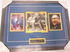 Alcindor Wooden signed photo