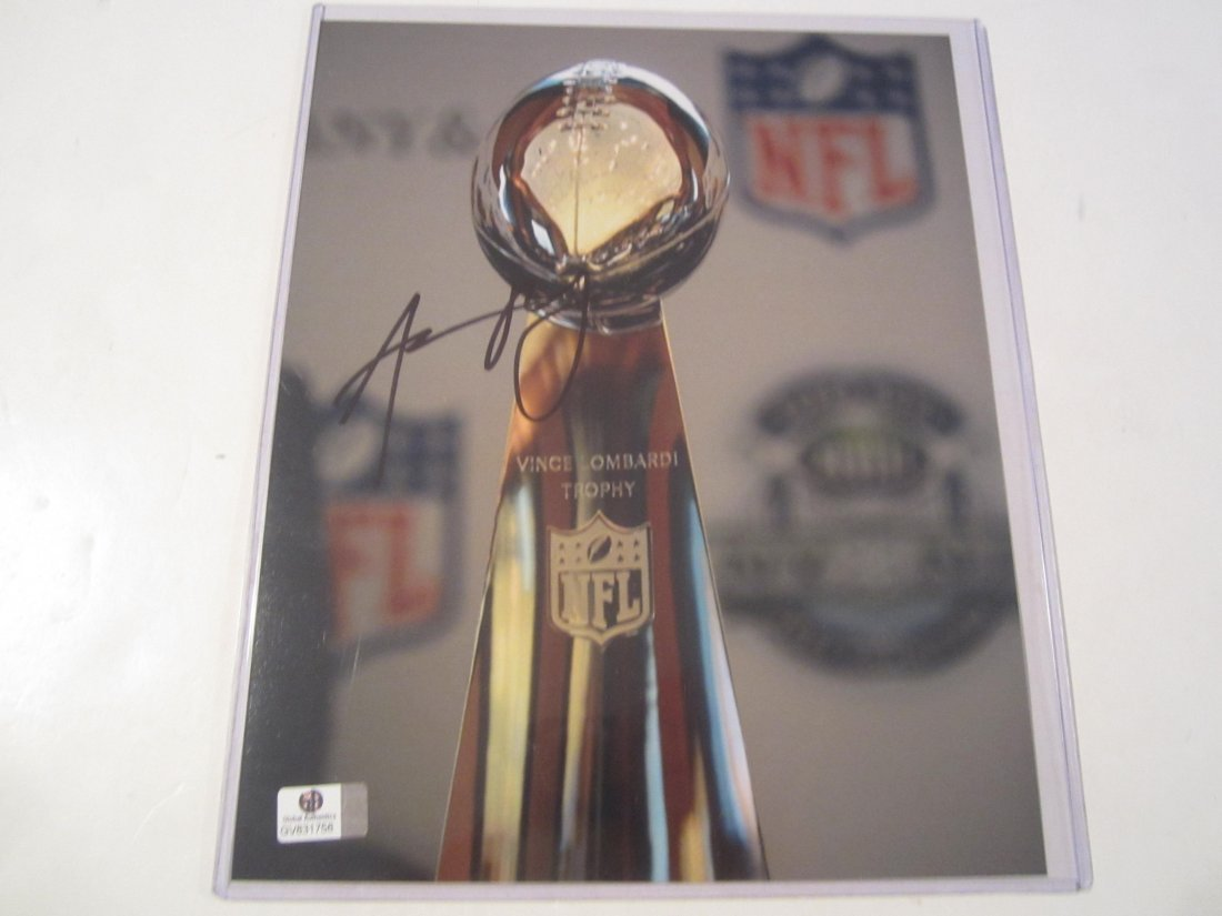 Aaron Rodgers signed photo