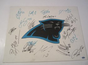 Panthers Auto Art Board
