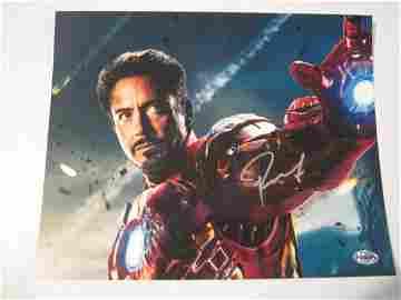 Robert Downey Jr signed photo