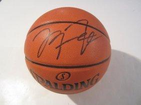 Michael Jordan Auto Basketball
