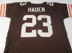 Joe Haden Signed Jersey