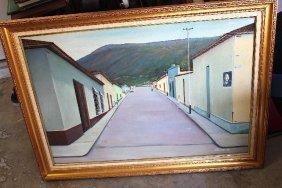 Painting By J. Herrera 33 X 45