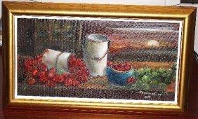 Original Still Life Acrylic On Board