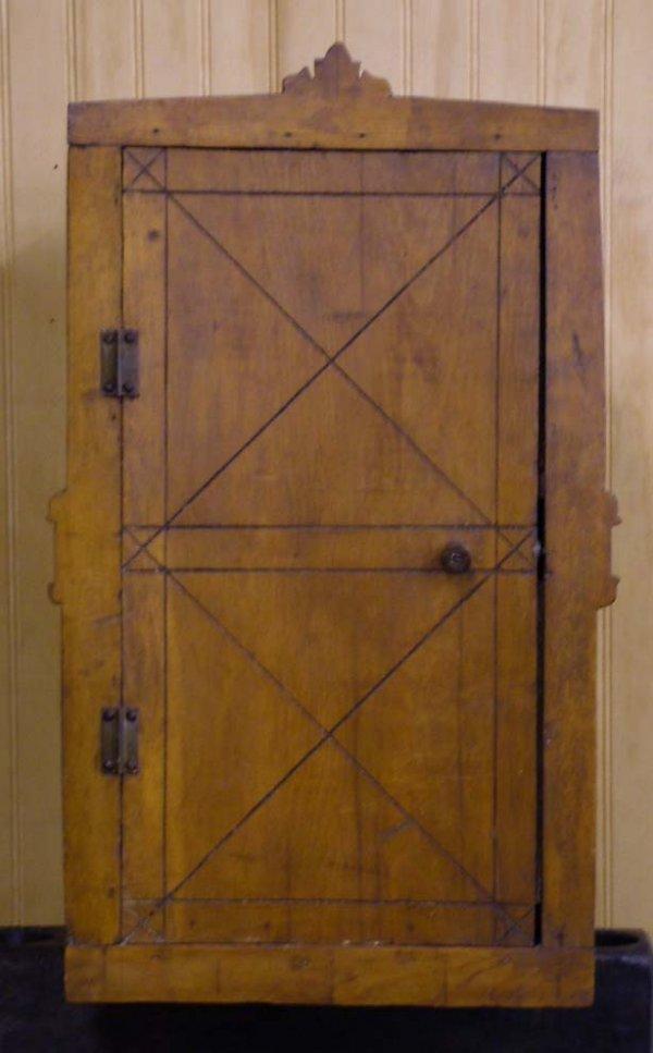 5: Folk Art Pine Cupboard