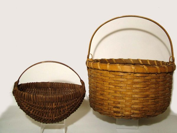 7: Early Hand Woven Baskets