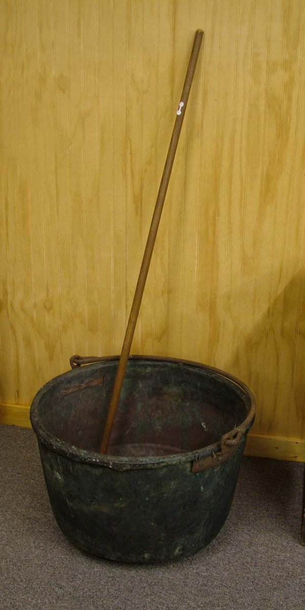 9: Copper Kettle With Paddle