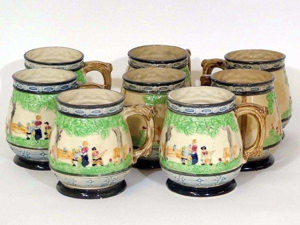 16: Vintage Porcelain Mugs Made In Japan