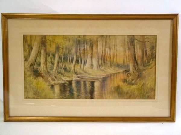 38: E. J. Fenn Watercolor