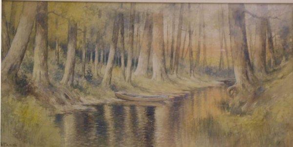 38: E. J. Fenn Watercolor - 3