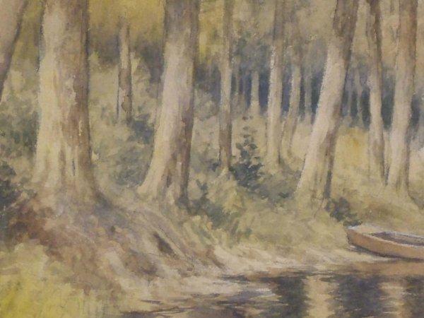 38: E. J. Fenn Watercolor - 4