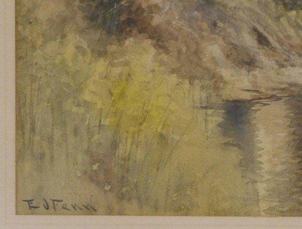 38: E. J. Fenn Watercolor - 5