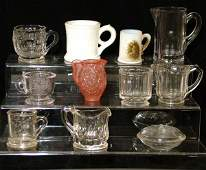 227A Group of Miscellaneous Glassware