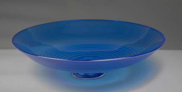 1: Blown Glass Bowl by Jacqueline Knight