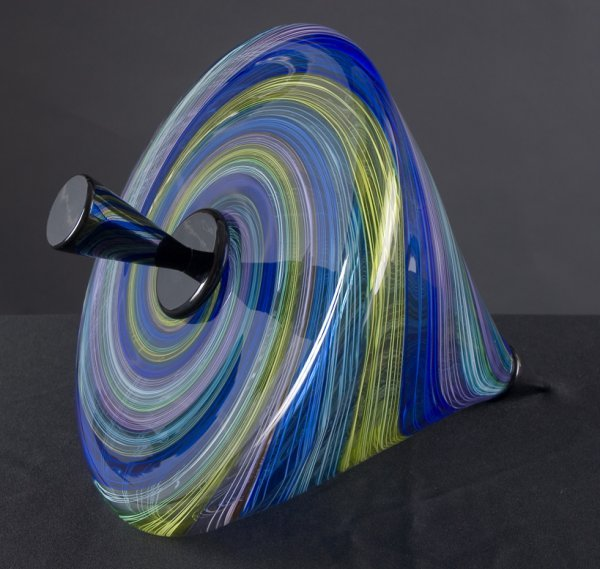 16: Pucci Top blown glass by Nancy Callan