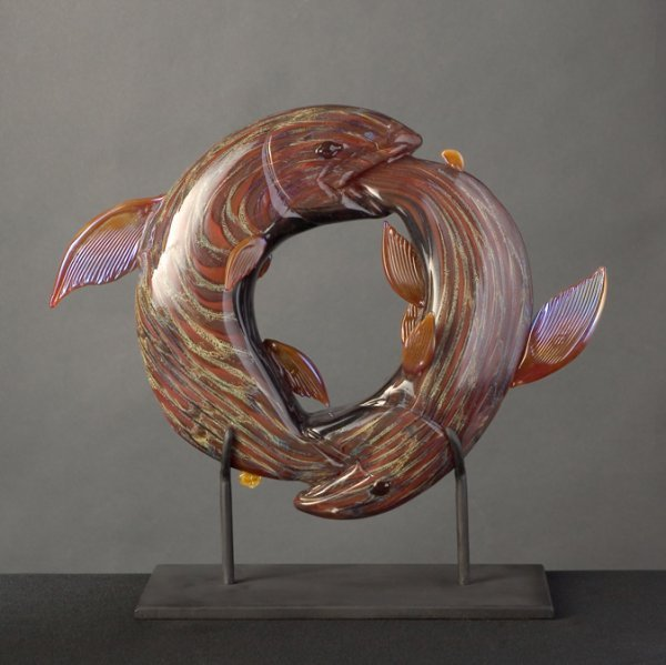 18: Sculpted Glass by Raven Skyriver