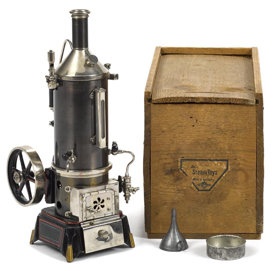 Doll et vertical single cylinder steam engine - 2