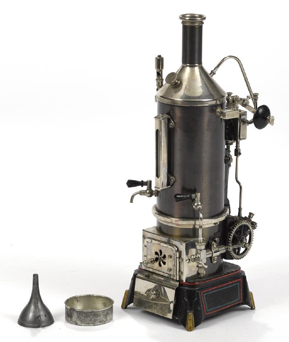 Doll et vertical single cylinder steam engine - 3