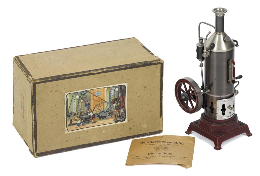 Ernst Plank Cosmos steam engine, in its original box,