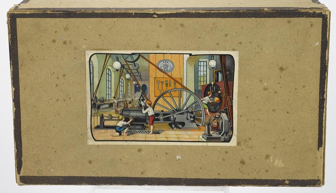 Ernst Plank Cosmos steam engine, in its original box, - 3