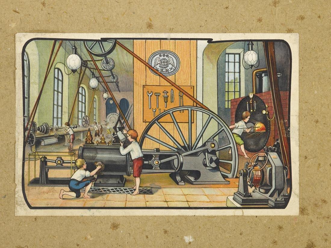 Ernst Plank Cosmos steam engine, in its original box, - 4