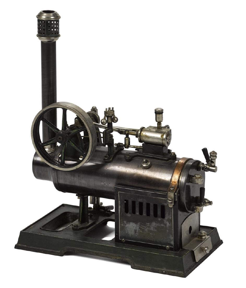 Marklin horizontal overtype steam engine with a water