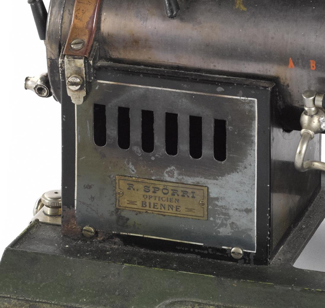 Marklin horizontal overtype steam engine with a water - 3