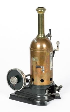 Marklin Donkey copper and brass single cylinder steam