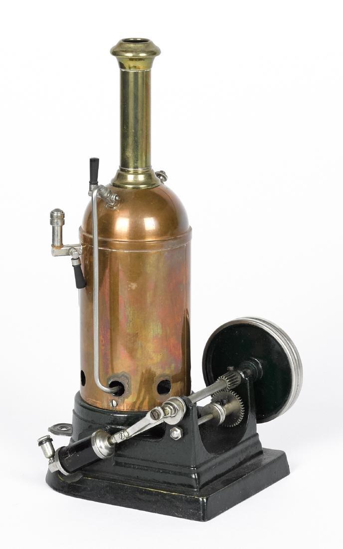 Marklin Donkey copper and brass single cylinder steam - 2