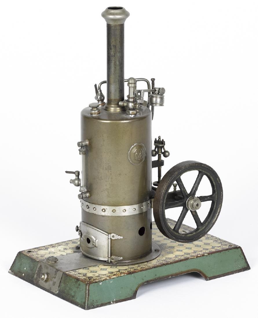 Marklin vertical single cylinder side-mounted steam
