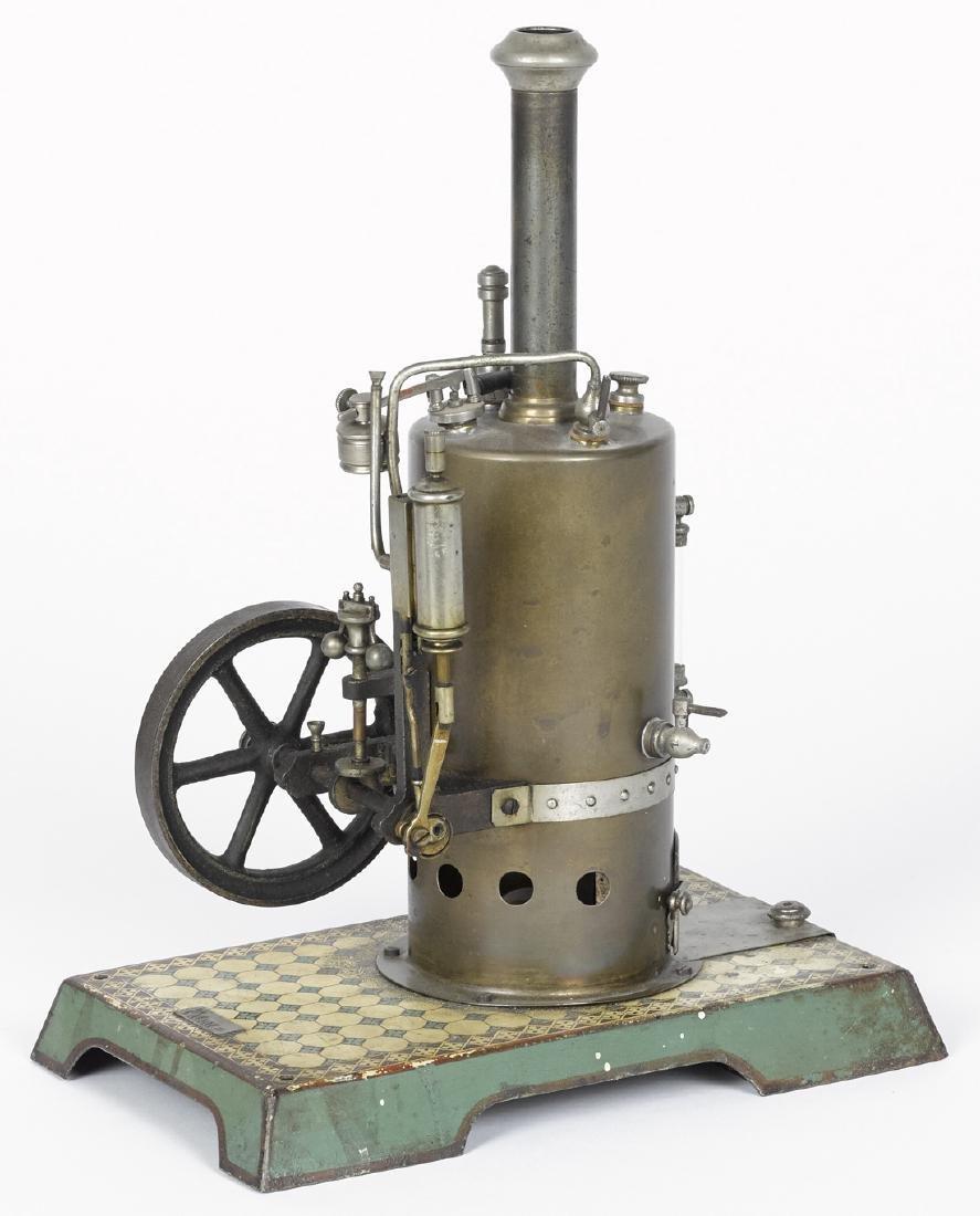 Marklin vertical single cylinder side-mounted steam - 2